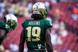 81 - Georgia Tech vs. USF 2018 - USF DB Ronnie Hoggins by Dennis Akers | SoFloBulls.com (6016x4016)