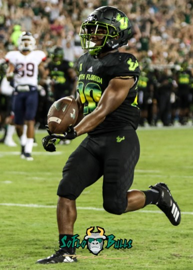 119 - USF vs. UConn 2018 - USF RB Johnny Ford by Will Turner | SoFloBulls.com (2309x3226) - 0H8A8795