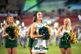 14 - USF vs. ECU 2018 - USF Cheerleaders by Dennis Akers | SoFloBulls.com (6016x4016)