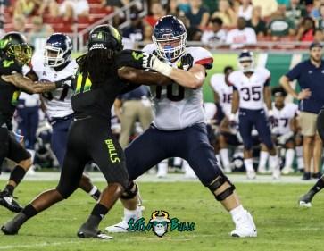 143 - USF vs. UConn 2018 - USF LB Dwayne Boyles by Will Turner | SoFloBulls.com (3207x2487) - 0H8A9002