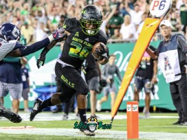 149 - USF vs. UConn 2018 - USF RB Johnny Ford by Will Turner | SoFloBulls.com (4259x3195) - 0H8A9061