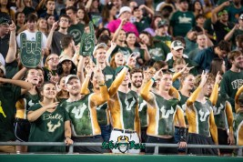 16 - USF vs. ECU 2018 - USF Fans in Crowd by Dennis Akers | SoFloBulls.com (6016x4016)