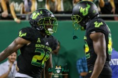 167 - USF vs. UConn 2018 - USF RB Johnny Ford Zion Roland by Will Turner | SoFloBulls.com (4203x2791) - 0H8A9200