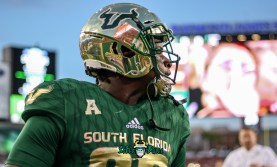 20A - USF vs. ECU 2018 - USF TE Chris Carter by Will Turner | SoFloBulls.com (5131x3105)