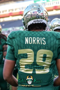 28 - USF vs. UConn 2018 - USF RB Brian Norris Jr. by Will Turner | SoFloBulls.com (3402x5128) - 0H8A8267