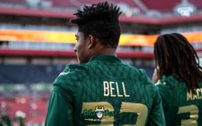 35 - USF vs. UConn 2018 - USF RB Duran Bell by Will Turner   SoFloBulls.com (4613x2883) - 0H8A8319