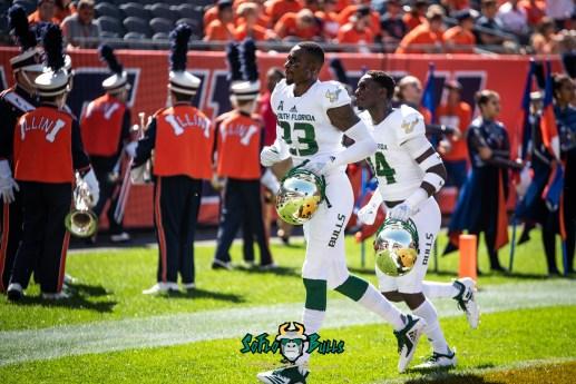 48 - USF vs. Illinois 2018 - USF DB Mazzi Wilkins by Dennis Akers | SoFloBulls.com (5295x3535)