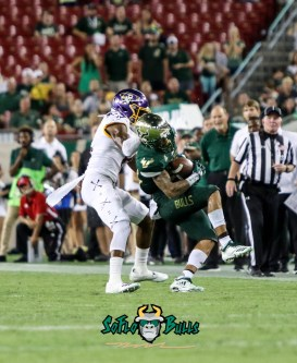 49A - USF vs. ECU 2018 - USF DB Nick Roberts first career INT by Will Turner | SoFloBulls.com (2082x2543)