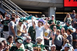 51 - USF vs. Illinois 2018 - USF Fans in Crowd at Soldier Field by Dennis Akers | SoFloBulls.com (6016x4016)