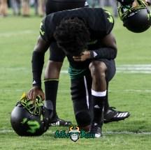 58 - USF vs. UConn 2018 - USF Kneels in Prayer Pre-Game in Adidas So Flo Uniform by Will Turner   SoFloBulls.com (2614x2613) - 0H8A8422