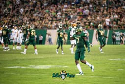68 - USF vs. ECU 2018 - DB Mike Hampton by Dennis Akers | SoFloBulls.com (502x3339)