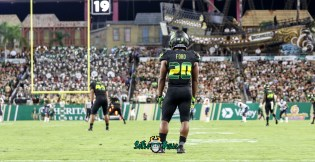 68 - USF vs. UConn 2018 - USF RB Johnny Ford by Will Turner | SoFloBulls.com (5455x2816) - 0H8A8496