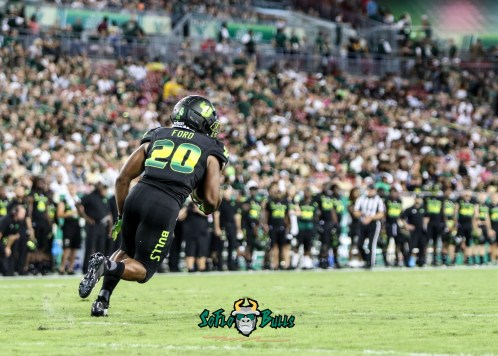 69 - USF vs. UConn 2018 - USF RB Johnny Ford by Will Turner | SoFloBulls.com (4174x2988) - 0H8A8498