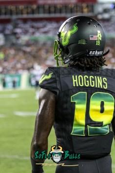 73 - USF vs. UConn 2018 - USF DB Ronnie Hoggins by Will Turner   SoFloBulls.com (3240x4893) - 0H8A8547