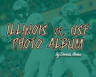 📌 Illinois vs. USF 2018 Football Photo Album by Dennis Akers | SoFloBulls.com