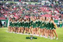 16 - UCF vs. USF 2018 - USF All Girls Cheerleaders Pre-Game by Dennis Akers | SoFloBulls.com