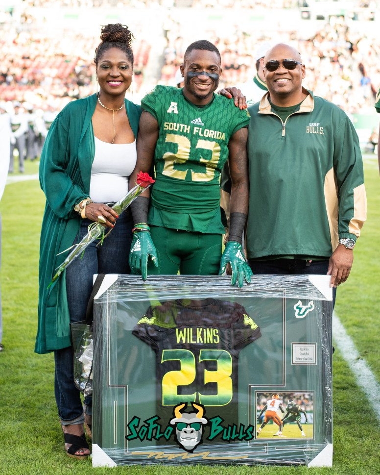 33 - UCF vs. USF 2018 - USF CB Mazzi Wilkins Senior Photo by Dennis Akers | SoFloBulls.com