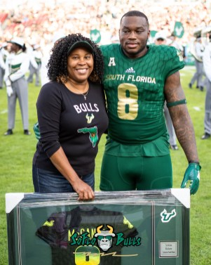 37 - UCF vs. USF 2018 - USF WR Tyre McCants Senior Photo by Dennis Akers | SoFloBulls.com