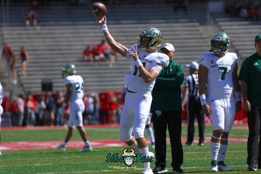 4 - USF vs. Houston 2018 - USF QB Blake Barnett by Will Turner | SoFloBulls.com (5472x3648) - 0H8A9314