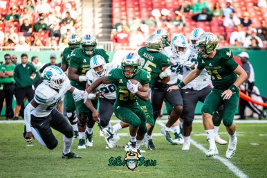 68 - Tulane vs. USF 2018 - USF RB Johnny Ford by Dennis Akers | SoFloBulls.com (4010x2677)
