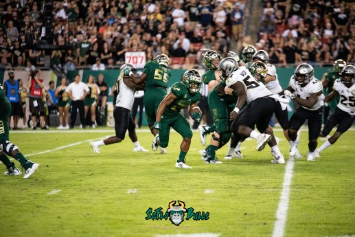 68 - UCF vs. USF 2018 - USF RB Johnny Ford by Dennis Akers | SoFloBulls.com