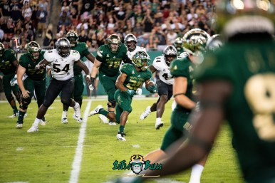 69 - UCF vs. USF 2018 - USF RB Johnny Ford by Dennis Akers | SoFloBulls.com