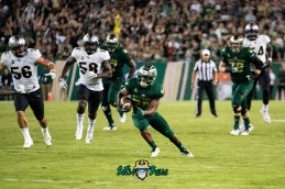 74 - UCF vs. USF 2018 - USF RB Johnny Ford 34 Yard TD by Dennis Akers | SoFloBulls.com