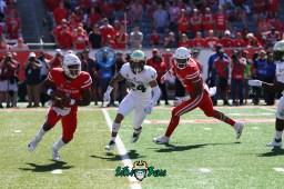 81 - USF vs. Houston 2018 - USF DB Nick Roberts by Will Turner | SoFloBulls.com (5472x3648) - 0H8A9508