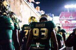 20 - Marshall vs. USF 2018 - USF DT Tyrone Barber by Dennis Akers | SoFloBulls.com