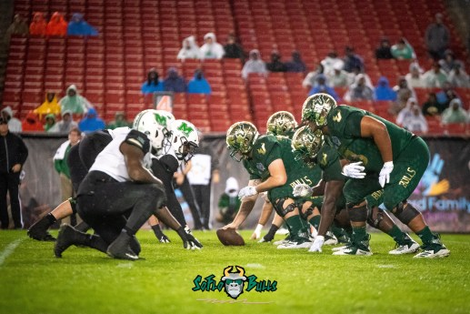 84 - Marshall vs. USF 2018 - USF OL vs. Marshall DL by Dennis Akers | SoFloBulls.com