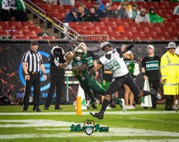 90 - Marshall vs. USF 2018 - USF WR Randall St. Felix by Dennis Akers | SoFloBulls.com