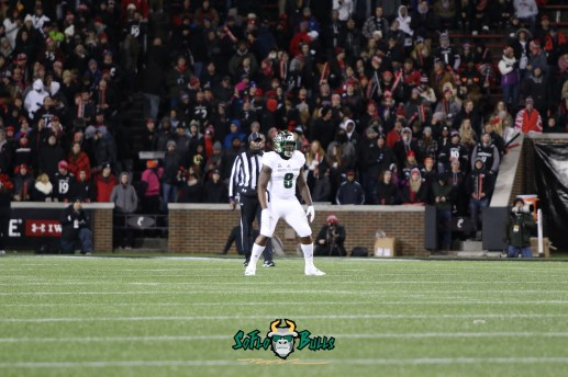 33 – USF vs. Cincinnati 2018 – USF WR Tyre McCants by Will Turner – SoFloBulls.com – 0H8A1028