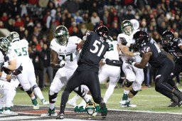 36 – USF vs. Cincinnati 2018 – USF OL Marcus Norman Billy Atterbury by Will Turner – SoFloBulls.com – 0H8A1035