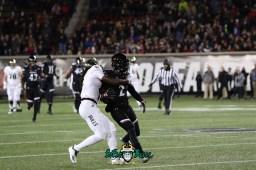 5 – USF vs. Cincinnati 2018 – USF WR Ryeshene Bronson by Will Turner – SoFloBulls.com – 0H8A0982