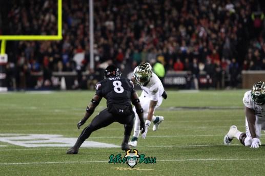 53 – USF vs. Cincinnati 2018 – USF QB Chris Oladokun by Will Turner – SoFloBulls.com – 0H8A1092