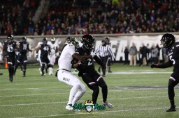 6 – USF vs. Cincinnati 2018 – USF WR Ryeshene Bronson by Will Turner – SoFloBulls.com – 0H8A0983
