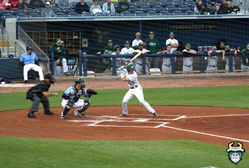 6 - South Florida Bulls vs. Tampa Bay Rays Baseball 2019 - C Tyler Dietrich by Tim O'Brien | SoFloBulls.com (2413x1630)