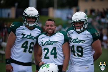 3 - USF K Coby 'The G' Weiss Andrew Beardall Ian Deneen Spring Game 2019 by Matthew Manuri 1175 (6016x4016)