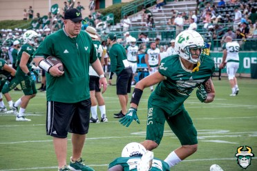 4 - USF LB Trey Laing Kerwin Bell Spring Game 2019 by David Gold 0245 (6000x4000)