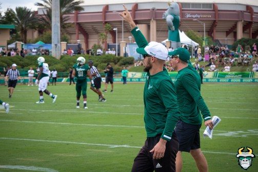 58 - USF Assistant Coach Saki Mihalakops Spring Game 2019 by David Gold 0913 (5816x3877)