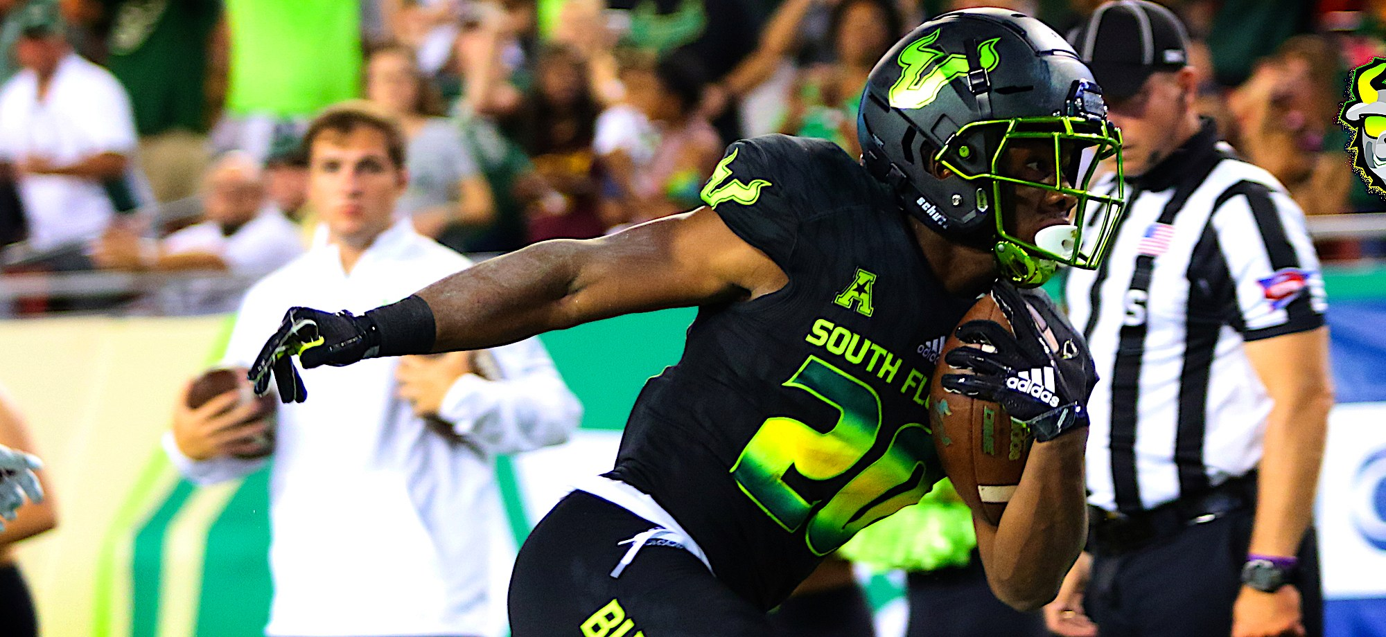 SoFloBulls.com 2018 USF Football Highlights Series: #F5Johnno RB Johnny Ford by Matthew Manuri