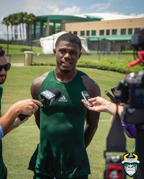 13 - USF DB Mike Hampton Fall Camp 2019 by David Gold DRG02701