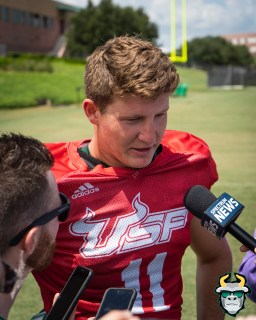 7 - USF QB Blake Barnett Fall Camp 2019 by David Gold DRG02497