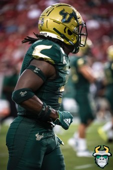 09 – Wisconsin vs USF 2019 – WR Randall St. Felix by David Gold – DRG04998