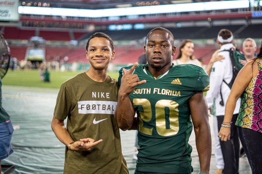 110 - USF vs S.C. State 2019 - Johnny Ford by David Gold DRG01726