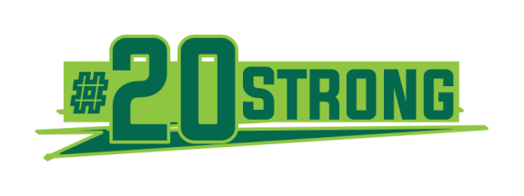 #20Strong Logo SoFloBulls.com USF Football Recruiting Class of 2020 Coverage by Mike Cusimano