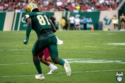 37 - USF vs S.C. State 2019 - Kevin Purlett by David Gold - DRG00155