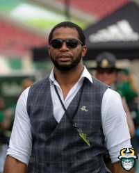 4 - USF vs S.C. State 2019 - Sam Barrington by David Gold - DRG09175