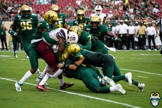 53- USF vs S.C. State 2019 - Gang Tackle by David Gold DRG00356