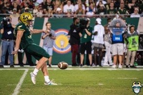 70 – Wisconsin vs USF 2019 – USF P Trent Schneider by David Gold – DRG05733